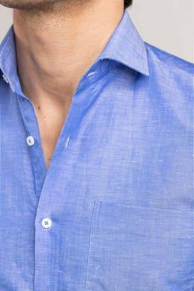 Blue Formal Shirt CM-YD-2890
