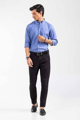 Blue Smart Casual Shirt CM-YD-2904 SC