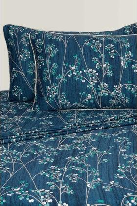 Blue Berry T-200 Bed Sheet Set