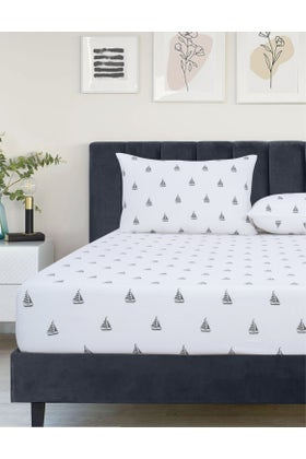 BOAT RIDE Jersey Fitted Sheet Set