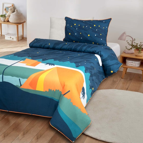 Camp Fire T-150 Quilt Cover Set