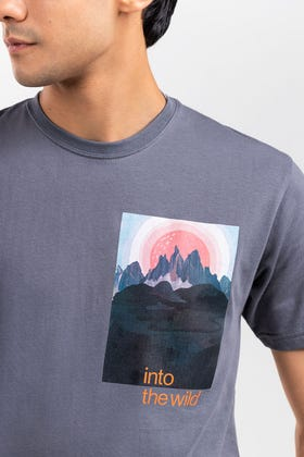 Charcoal Fashion T-Shirt JGP-URB-D251-01