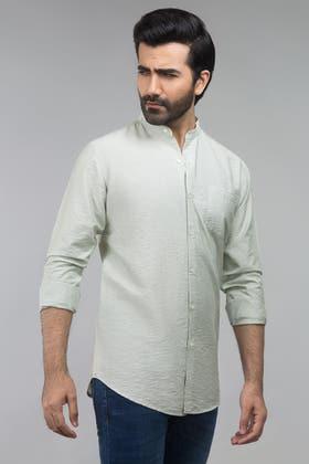 Green Casual Shirt CM-YD-2690