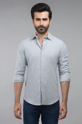 Grey Casual Shirt CM-YD-2695