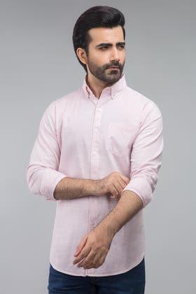Pink Casual Shirt CM-YD-2716
