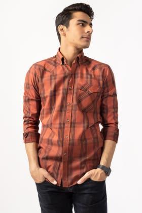Multi Check Casual Shirt CM-YD-2848 CS