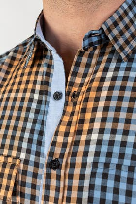 Checkered Casual Shirt CM-YD-2849 CS