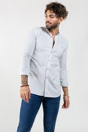 Sky Plain Casual Shirt CM-YD-2851 CS