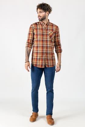 Brown Casual Shirt CM-YD-2852 CS