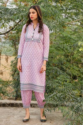 1PC Unstitched Printed Lawn Fabric SL-897 A