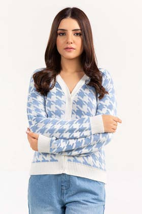 Cotton Button Down Cardigan SWT-FW21-024 A