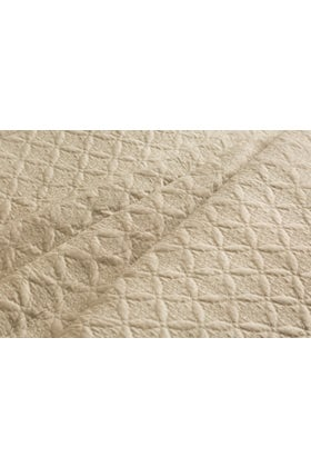 Dotted T-400 Emb Bed Throw