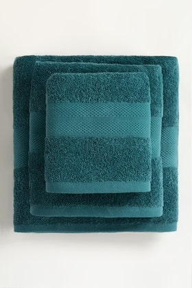 Dragonfly Combed Towel Plain