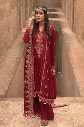 3PC Unstitched Pashmina Suit AP-12075