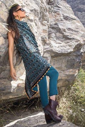 3PC Unstitched Velvet Suit With Velvet Dupatta BVL-12011 A