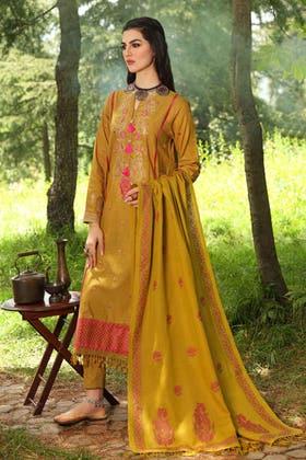3PC Unstitched Pashmina Suit AP-12037
