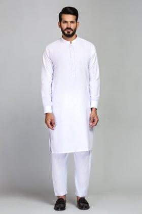 White Unstitched Fabric Gul 900 Nirvan