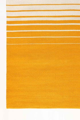 FRINGE OCHRE Yarn Dyed Rug
