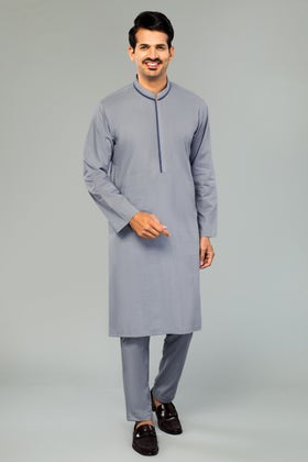 Stitched Cotton Shalwar Kameez Suit - MSU-02-C