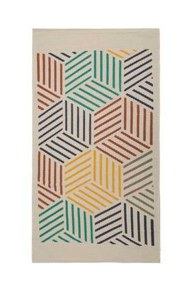 Geometrical Screen Print Rug