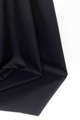 Black Unstitched Fabric OSCAR LATHA-JA