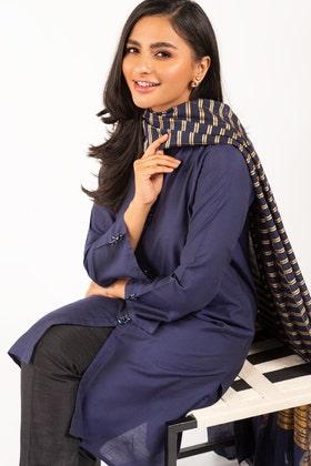 Kathan Silk Kurta With Zari Organza Dupatta GLAMOUR-21-20 2PC