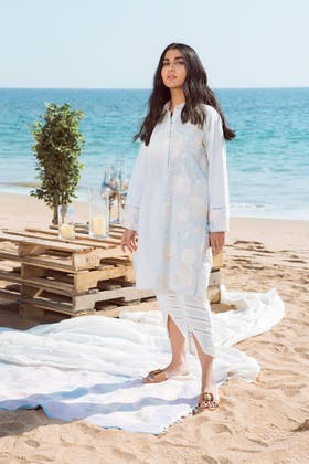Embroidered Lawn Shirt GLS-20-01 B