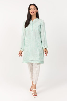 Embroidered Lawn Shirt -GLS-21-08