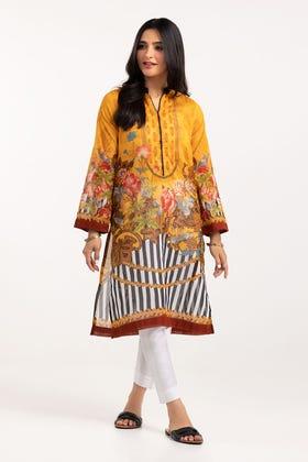 Digital Printed Cotton Shirt GLS-21-148 DP