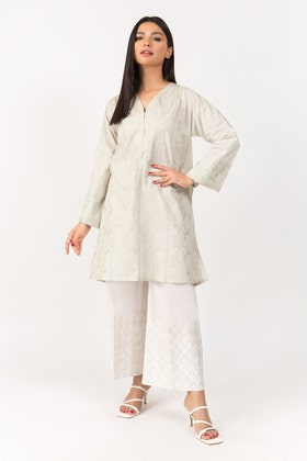 Embroidered Lawn Shirt -GLS-21-14