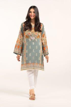 Digital Printed Cotton Shirt GLS-21-152 DP