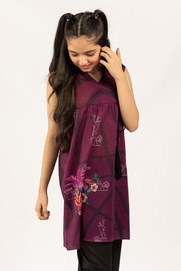 Digital Printed Cotton Shirt GLS-21-169 DP KIDS