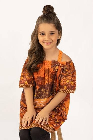 Digital Printed Cotton Shirt GLS-21-170 DP KIDS