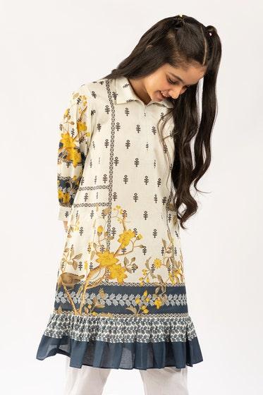 Digital Printed Cotton Shirt GLS-21-174 DP KIDS