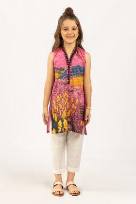 Digital Printed Cotton Shirt GLS-21-177 DP KIDS