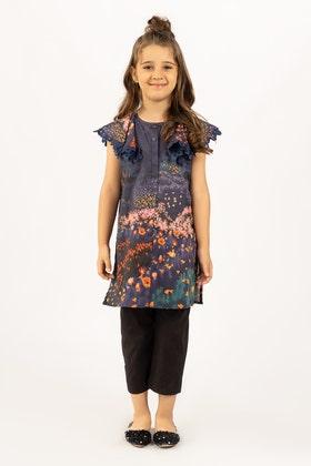 Digital Printed Cotton Shirt GLS-21-178 DP KIDS