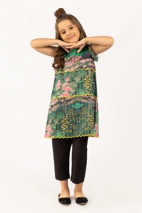 Digital Printed Cotton Shirt GLS-21-179 DP KIDS