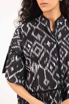 Digital Printed Cotton Shirt - GLS-21-214 DP