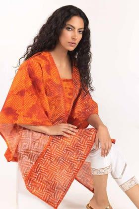 Light Cotton Digital Printed Summer Tunic Shirt - GLS-21-219 DP
