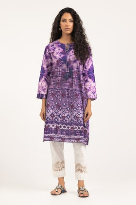 Light Cotton Digital Printed and Embroidered Shirt - GLS-21-220 DP