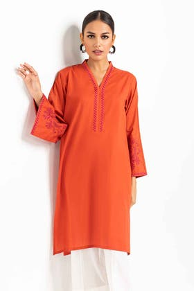 Embroidered Cambric Shirt GLS-21-266