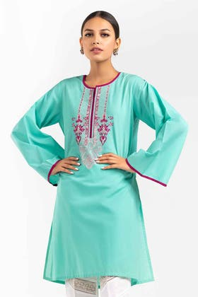 Embroidered Cambric Shirt GLS-21-270