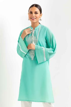 Embroidered Cambric Shirt GLS-21-271