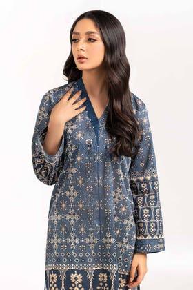 Digital Printed & Embroidered Cotton Shirt GLS-21-294-DP