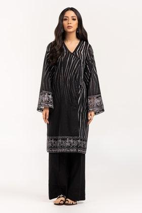 Digital Printed & Embroidered Cotton Shirt GLS-21-297-DP