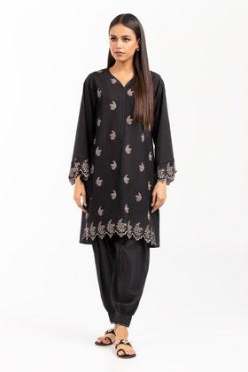 Dyed Chikankari Shirt GLS-21-304