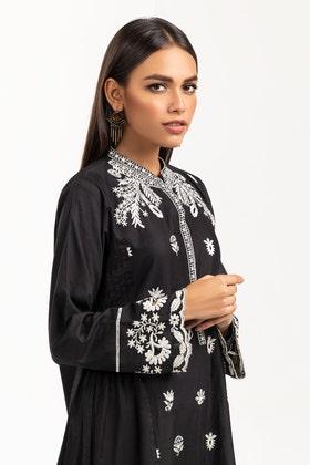 Dyed Chikankari Shirt GLS-21-307