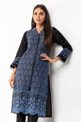 Dyed Chikankari Shirt GLS-21-310