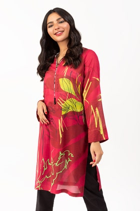 Digital Printed Cambric Shirt GLS-21-59