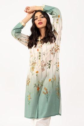 Digital Printed Cambric Shirt GLS-21-61